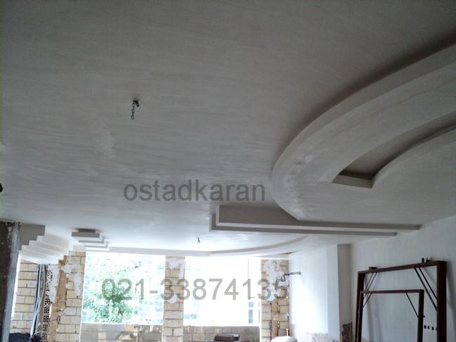 عکس گچبری سقف 4