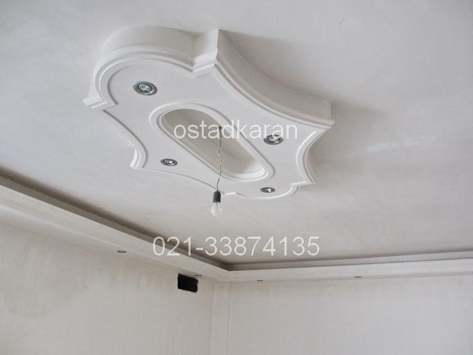 عکس گچبری سقف 3
